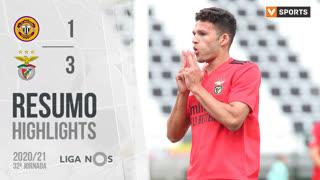 Liga NOS (32ªJ): Resumo CD Nacional 1-3 SL Benfica