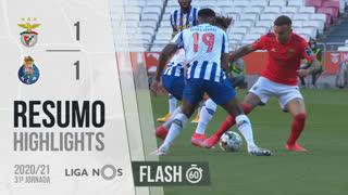 I Liga (31ªJ): Resumo Flash SL Benfica 1-1 FC Porto