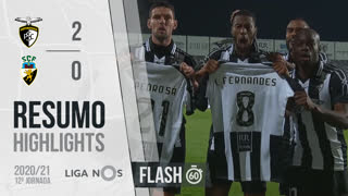 Liga NOS (12ªJ): Resumo Flash Portimonense 2-0 SC Farense