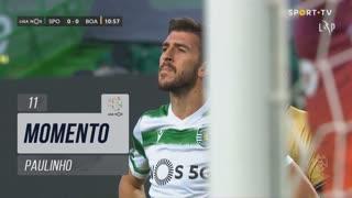 Sporting CP, Jogada, Paulinho aos 11'