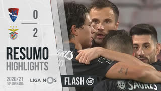 Liga NOS (10ªJ): Resumo Flash Gil Vicente FC 0-2 SL Benfica