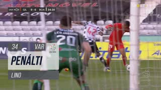 Gil Vicente FC, Penálti, Lino aos 34'