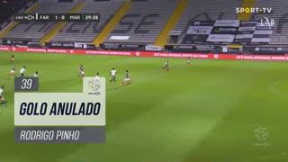 Marítimo M., Golo Anulado, Rodrigo Pinho aos 39'