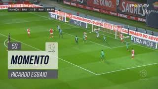 SC Braga, Jogada, Ricardo Esgaio aos 50'