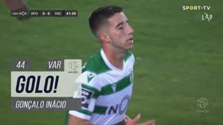 GOLO! Sporting CP, Gonçalo Inácio aos 44', Sporting CP 1-0 Vitória SC