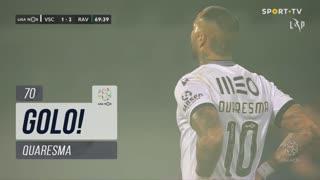 GOLO! Vitória SC, Quaresma aos 70', Vitória SC 1-2 Rio Ave FC