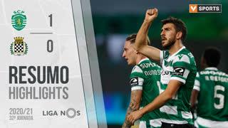 Liga NOS (32ªJ): Resumo Sporting CP 1-0 Boavista FC