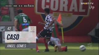 Boavista FC, Caso, Angel Gomes aos 42'