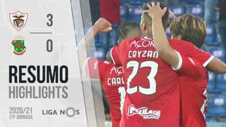 Liga NOS (21ªJ): Resumo Santa Clara 3-0 FC P.Ferreira