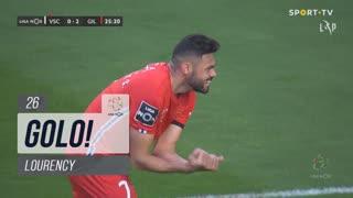 GOLO! Gil Vicente FC, Lourency aos 26', Vitória SC 0-2 Gil Vicente FC