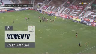 CD Tondela, Jogada, Salvador Agra aos 24'