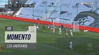 Marítimo M., Jogada, Leo Andrade aos 89'