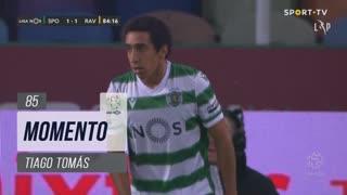 Sporting CP, Jogada, Tiago Tomás aos 85'