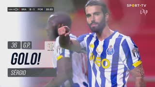 GOLO! FC Porto, Sérgio aos 36', SC Braga 0-1 FC Porto