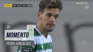 Sporting CP, Jogada, Pedro Gonçalves aos 85'