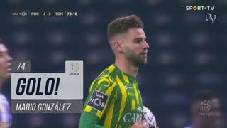 GOLO! CD Tondela, Mario González aos 74', FC Porto 4-3 CD Tondela