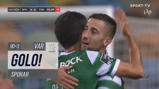 GOLO! Sporting CP, Sporar aos 90'+3', Sporting CP 4-0 CD Tondela