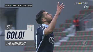 GOLO! FC Famalicão, Ivo Rodrigues aos 50', Marítimo M. 0-3 FC Famalicão