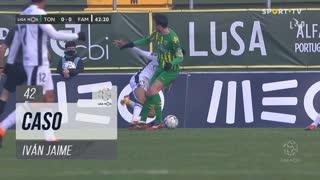 FC Famalicão, Caso, Iván Jaime aos 42'