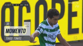 Sporting CP, Jogada, Tiago Tomás aos 38'