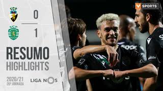 Liga NOS (27ªJ): Resumo SC Farense 0-1 Sporting CP