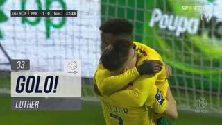 GOLO! FC P.Ferreira, Luther aos 33', FC P.Ferreira 2-0 CD Nacional