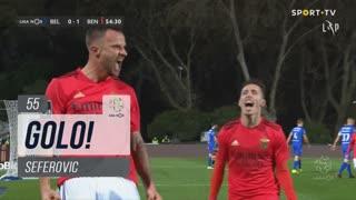 GOLO! SL Benfica, Seferovic aos 55', Belenenses SAD 0-1 SL Benfica