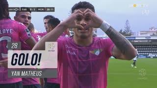 GOLO! Moreirense FC, Yan Matheus aos 28', SC Farense 0-1 Moreirense FC
