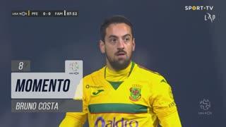 FC P.Ferreira, Jogada, Bruno Costa aos 8'