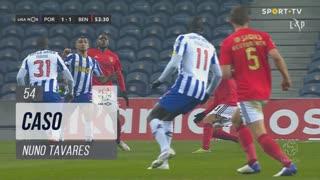 SL Benfica, Caso, Nuno Tavares aos 54'