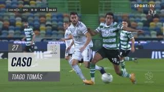 Sporting CP, Caso, Tiago Tomás aos 27'