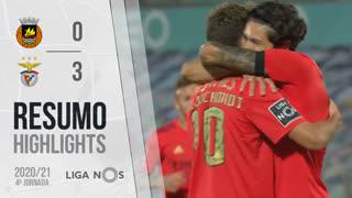 Liga NOS (4ªJ): Resumo Rio Ave FC 0-3 SL Benfica