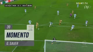 Boavista FC, Jogada, G. Sauer aos 39'