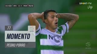 Sporting CP, Jogada, Pedro Porro aos 77'