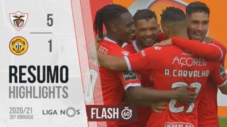 Liga NOS (26ªJ): Resumo Flash Santa Clara 5-1 CD Nacional