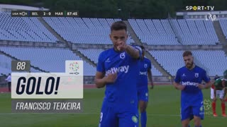 GOLO! Belenenses SAD, Francisco Teixeira aos 88', Belenenses SAD 2-0 Marítimo M.