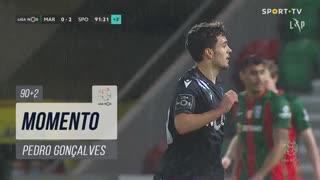 Sporting CP, Jogada, Pedro Gonçalves aos 90'+2'