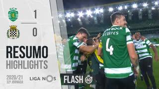 I Liga (32ªJ): Resumo Flash Sporting CP 1-0 Boavista FC