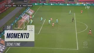 SC Braga, Jogada, Schettine aos 59'