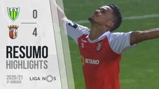 Liga NOS (3ªJ): Resumo CD Tondela 0-4 SC Braga