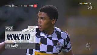 Boavista FC, Jogada, Cannon aos 45'+3'