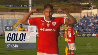 GOLO! Santa Clara, Cryzan aos 45'+1', Santa Clara 2-0 FC P.Ferreira