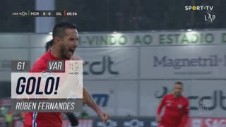 GOLO! Gil Vicente FC, Rúben Fernandes aos 61', Moreirense FC 0-1 Gil Vicente FC