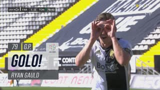 GOLO! SC Farense, Ryan Gauld aos 79', SC Farense 1-0 CD Tondela