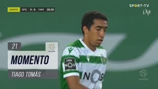 Sporting CP, Jogada, Tiago Tomás aos 21'