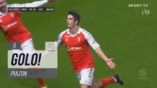 GOLO! SC Braga, Piazon aos 5', SC Braga 1-0 Vitória SC