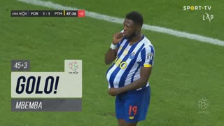 GOLO! FC Porto, Mbemba aos 45'+3', FC Porto 1-1 Portimonense
