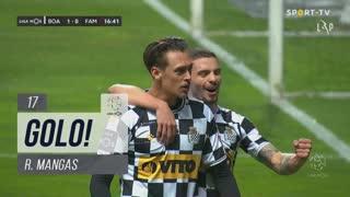 GOLO! Boavista FC, R. Mangas aos 17', Boavista FC 1-0 FC Famalicão