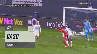 Gil Vicente FC, Caso, Lino aos 67'