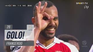 GOLO! SC Braga, Fransérgio aos 28', SC Braga 1-0 CD Nacional